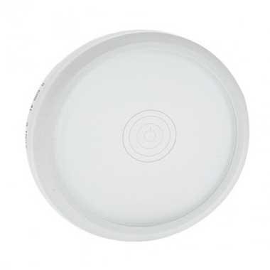 LEGRAND Céliane Enjoliveur commande tactile Verre Kaolin / Blanc - 068041