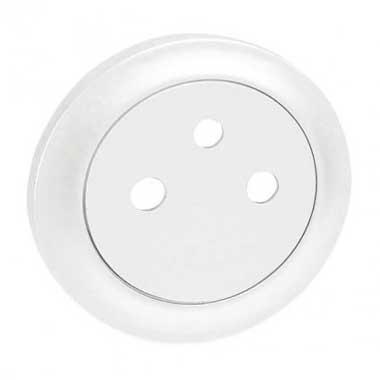 LEGRAND Céliane Enjoliveur prise de courant 2P+T affleurant blanc - 068111