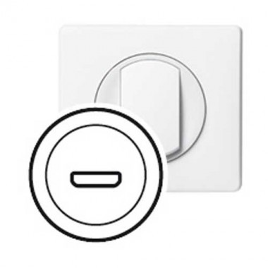 LEGRAND Céliane Enjoliveur prise HDMI blanc - 068216