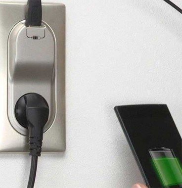 LEGRAND Céliane Enjoliveur prise de courant + chargeur USB titane - 068416