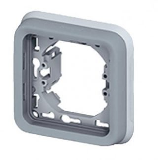LEGRAND Plexo Support plaque 1 poste composable encastré gris IP55 - 069681