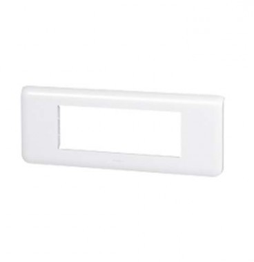LEGRAND Mosaic Plaque horizontale 6 modules blanc - 078816
