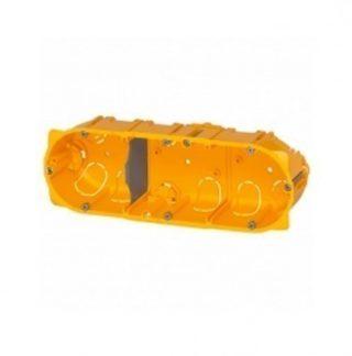 LEGRAND Batibox Boite encastrement triple pour cloison sèche P40 E71 - 080043
