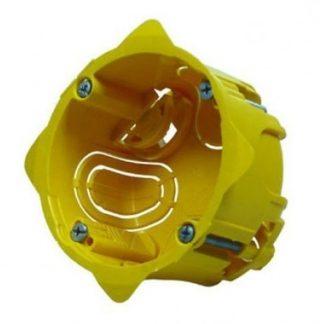 LEGRAND Batibox Boite encastrement simple pour cloison sèche D67 P50 - 080051