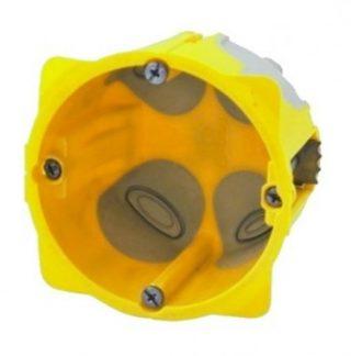 LEGRAND Ecobatibox Boite encastrement simple étanche à l'air D85 P40 - 080086