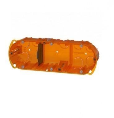 LEGRAND Batibox Boite encastrement triple à sceller P40 E71 - 080103