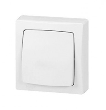 LEGRAND Interrupteur va et vient en saillie blanc - 086001