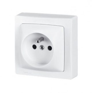 LEGRAND Prise de courant 2P+T en saillie blanc - 086027