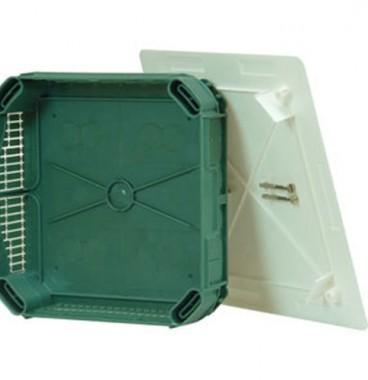 LEGRAND Batibox Boite de dérivation pour maçonnerie 85x85x40 - 089271
