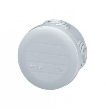LEGRAND Plexo Boite de dérivation étanche IP55 D60 P45 gris - 092001