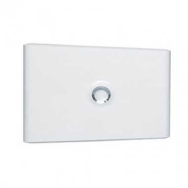 LEGRAND Drivia Porte blanche pour tableau électrique 1 rangée 18 modules - 401231