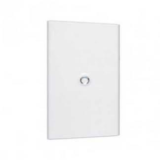 LEGRAND Drivia Porte blanche pour tableau électrique 4 rangées 18 modules - 401234