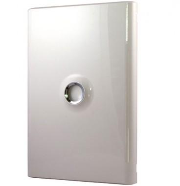 LEGRAND Drivia Porte blanche pour tableau électrique 2 rangées 13 modules - 401332