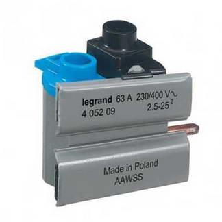 LEGRAND Borne de connexion pour interrupteur différentiel auto 63A - 405209
