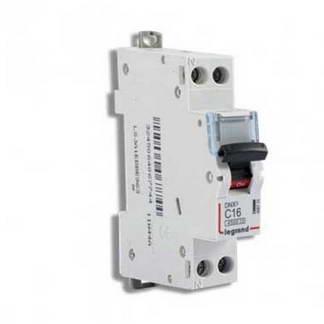 LEGRAND DNX3 Disjoncteur 16A Ph+N courbe C 4.5kA 230V - 406774
