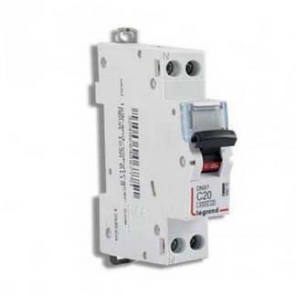LEGRAND DNX3 Disjoncteur 20A Ph+N courbe C 4.5kA 230V - 406775