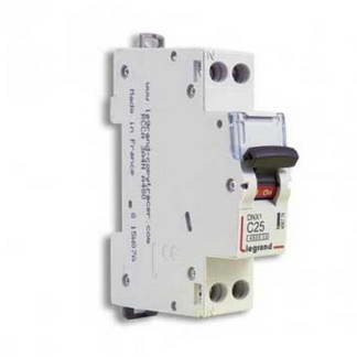 LEGRAND DNX3 Disjoncteur 25A Ph+N courbe C 4.5kA 230V - 406776