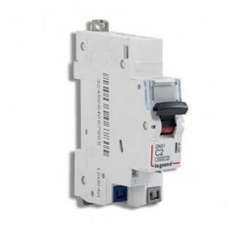 LEGRAND DNX3 Disjoncteur 2A auto Ph+N courbe C 4.5kA 230V - 406780