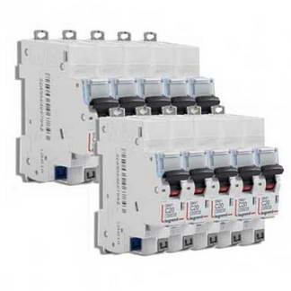 LEGRAND DNX3 Lot de 10 disjoncteurs 20A auto Ph+N courbe C 4.5kA 230V - LOT406784