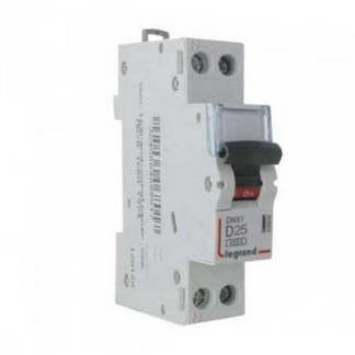 LEGRAND DNX3 Disjoncteur 25A Ph+N courbe D 6kA 230V - 406804