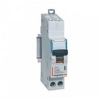 LEGRAND DNX3 Disjoncteur 40A auto PH+N courbe C 6kA 230V - 406887