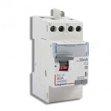 LEGRAND DX3 Interrupteur différentiel 40A 30mA type AC 230V - 411611