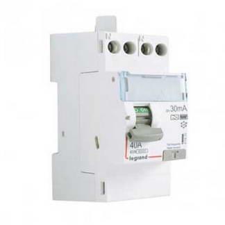 LEGRAND DX3 Interrupteur différentiel 40A 30MA type HPI 230V - 411623