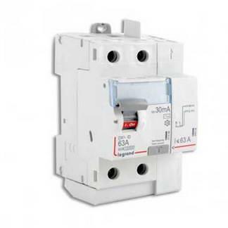 LEGRAND DX3 Interrupteur différentiel 63A 30mA type AC auto 3 modules 230V - 411633