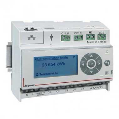 LEGRAND EMDX³ Ecocompteur IP 110/230V 6 modules - 412000