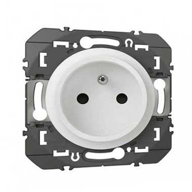 LEGRAND Dooxie Prise de courant 2P+T easyréno pour rénovation blanc - 600328