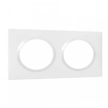 LEGRAND Dooxie Plaque double blanc - 600802