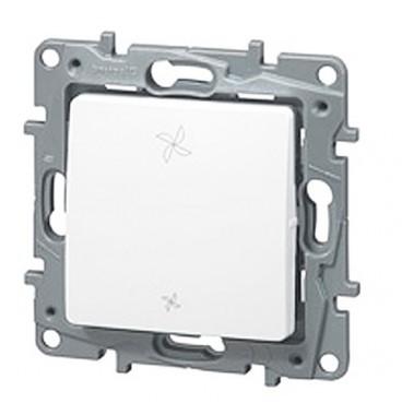 LEGRAND Niloé Interrupteur VMC blanc - 664791