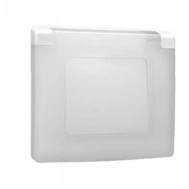 LEGRAND Niloé Plaque simple blanc IP44 et IK07 - 665000