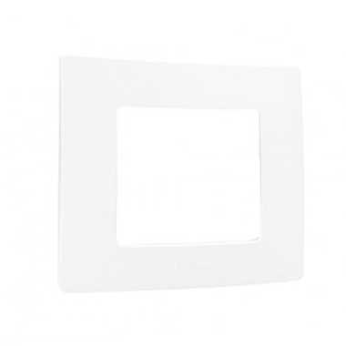 LEGRAND Niloé Plaque simple blanc - 665001