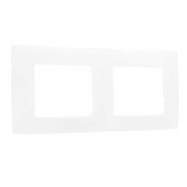 LEGRAND Niloé Plaque double blanc - 665002