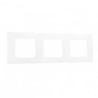 LEGRAND Niloé Plaque triple blanc - 665003