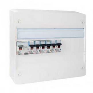 LEGRAND Drivia Tableau électrique pré-équipé auto 1 rangée 1ID 40A 6 disjoncteurs