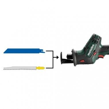 METABO Scie sabre sans fil 18V avec 2 batteries 4Ah en coffret - 602266800