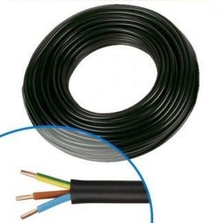 Câble électrique R02V 3G2.5² B/M/VJ - Couronne de 50m