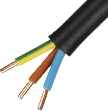 Câble électrique R02V 3G2.5² B/M/VJ - Couronne de 100m