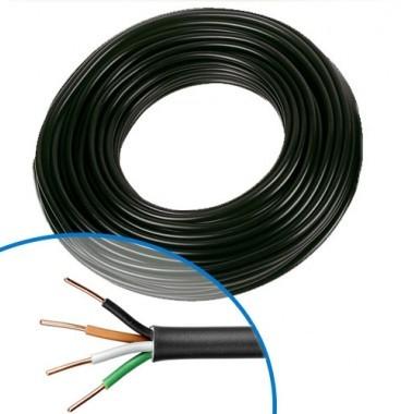 Câble électrique R02V 4G1.5² N/M/G/VJ NEXANS - Couronne de 50m