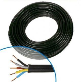 Câble électrique R02V 5G1.5² N/M/G/B/VJ NEXANS - Couronne de 50m