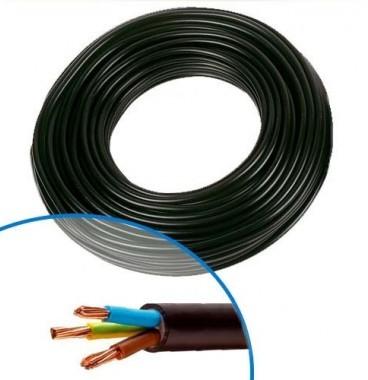 Câble électrique R02V 3G6² B/M/VJ NEXANS - Couronne de 50m