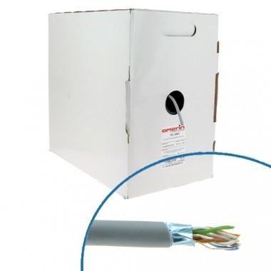 Câble RJ45 informatique Catégorie 6 F/UTP 4P 350Mhz OMERIN - Box de 305m