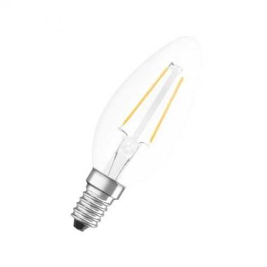 OSRAM Lot de 2 ampoules LED filament E14 230V 2,5W(=25W) 250lm 2700°K flamme