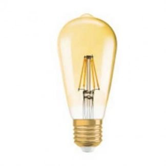 OSRAM Ampoule LED filament E27 230V 2,8W(=21W) 200lm 2400°K édition 1906 Edison or