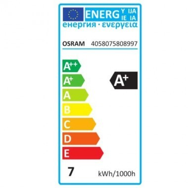 OSRAM Ampoule LED filament dimmable E27 230V 6,5W(=51W) 650lm 2400°K globe or édition 1906
