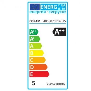 OSRAM Ampoule LED filament dimmable E27 230V 4,5W(=40W) 470lm 2700°K sphérique