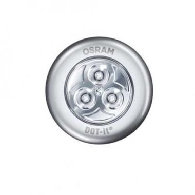 OSRAM Spot LED à piles Dot-it 4,5V 0,23W 16lm argent