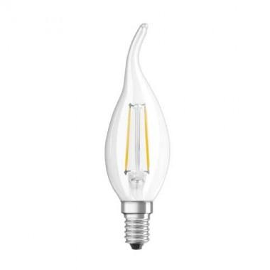 OSRAM Ampoule LED filament E14 230V 2,8W(=23W) 230lm 2700°K flamme coup de vent